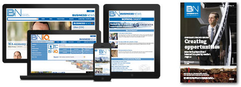 Business News print and digital products